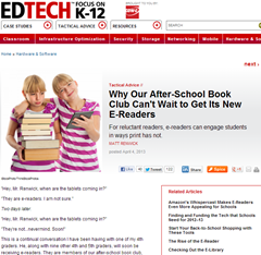 LibraryCity's take on K-12 libraries and the Digital Public Library of America