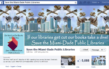 E-books and the Miami-Dade library crisis: One way to help thwart the misers